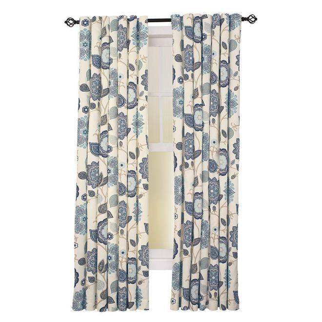 http://www.homedepot.com/p/Home-Decorators-Collection-Indigo-Floral-Cottage-Back-Tab-Curtain-54-in-W-x-84-in-L-1-Panel-1627861/206260810